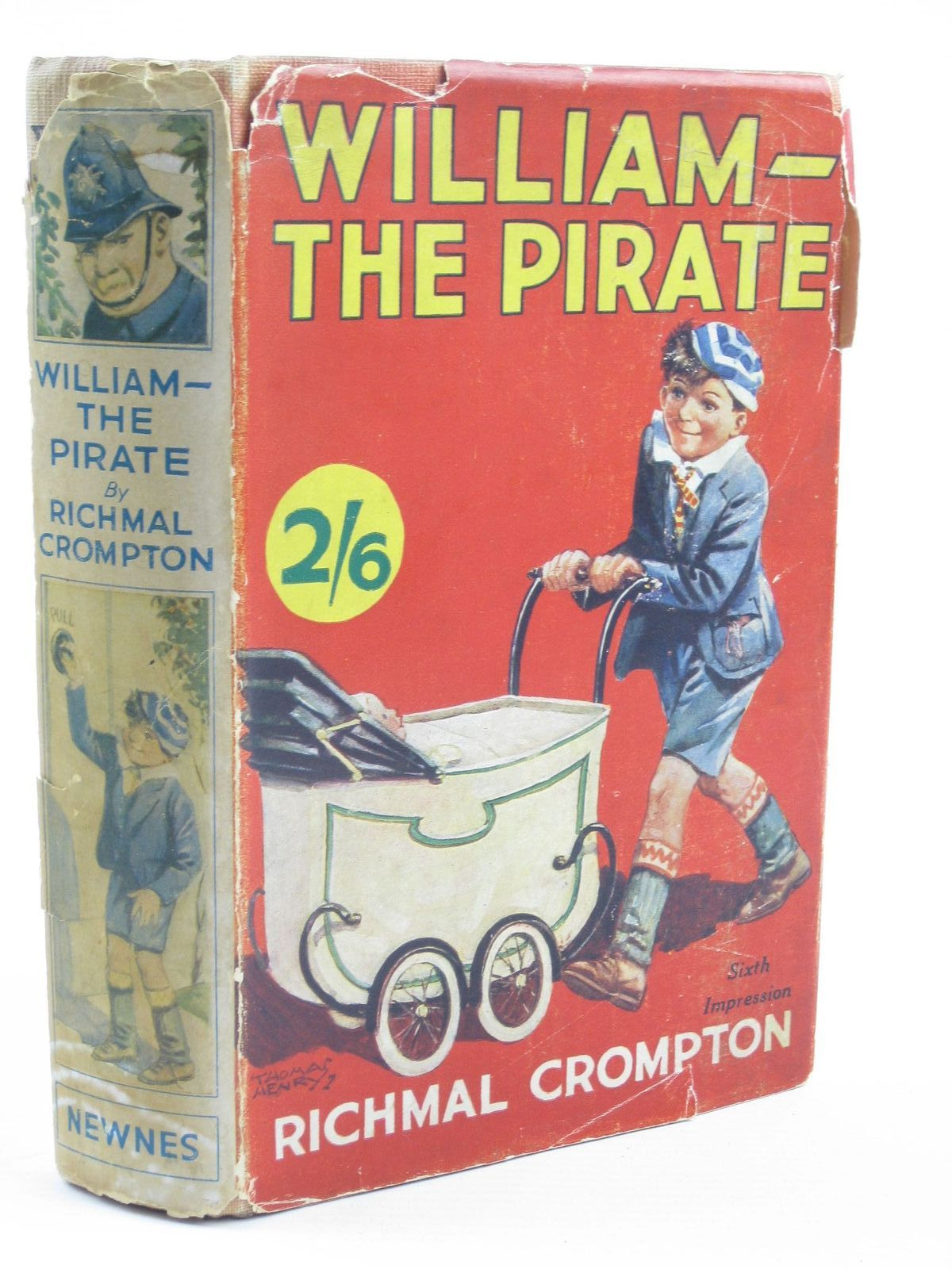 Cover of WILLIAM-THE PIRATE by Richmal Crompton