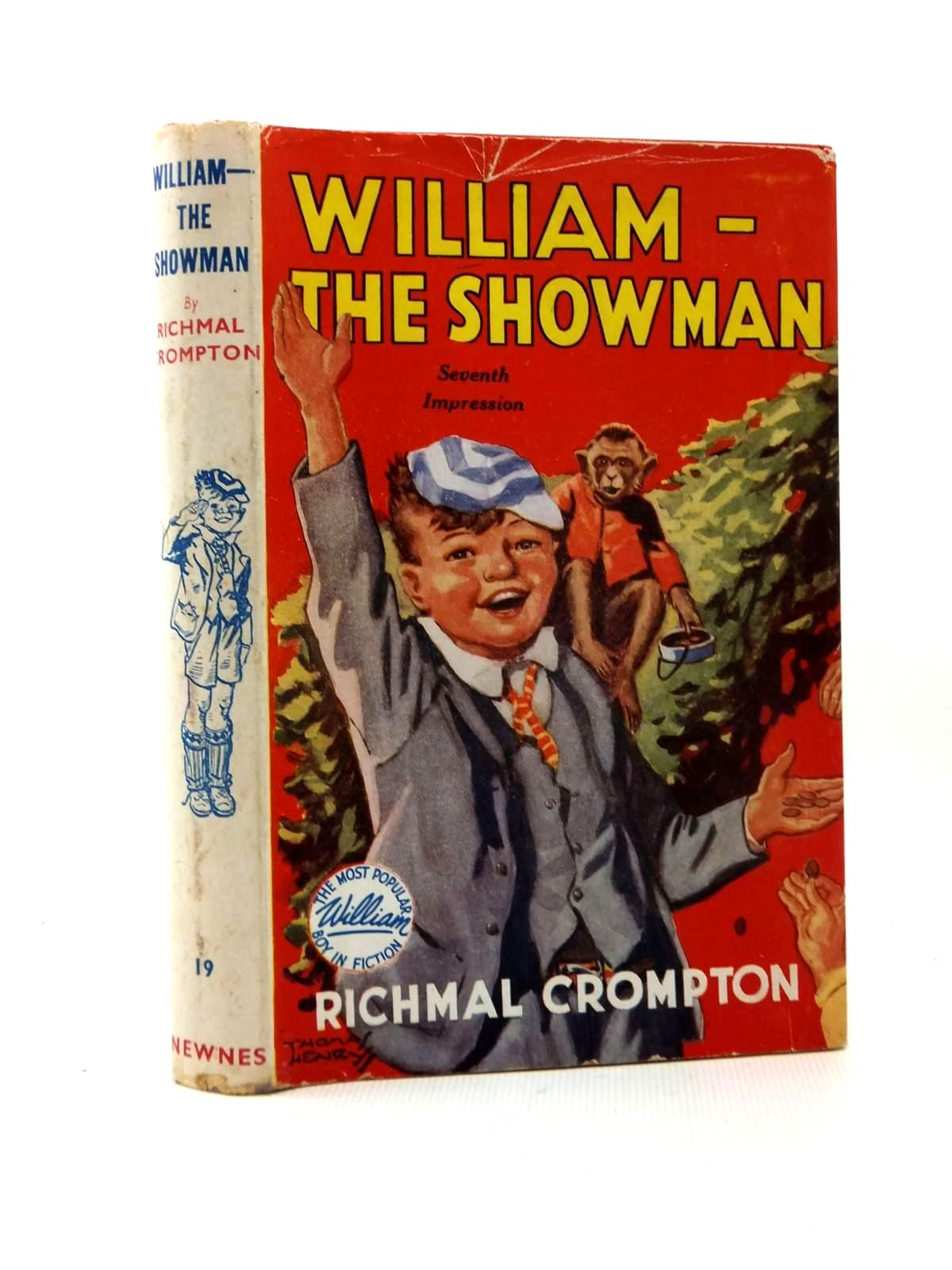 Cover of WILLIAM THE SHOWMAN by Richmal Crompton