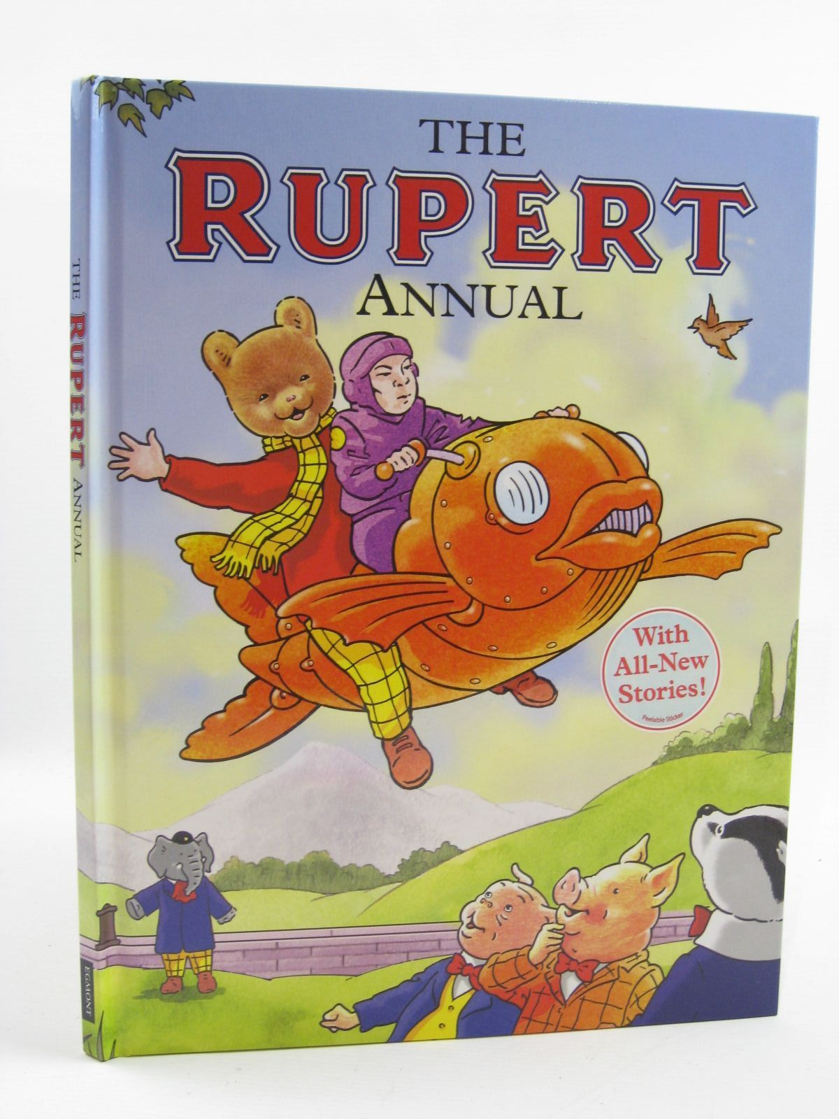 Cover of RUPERT ANNUAL 2009 by Stuart Trotter