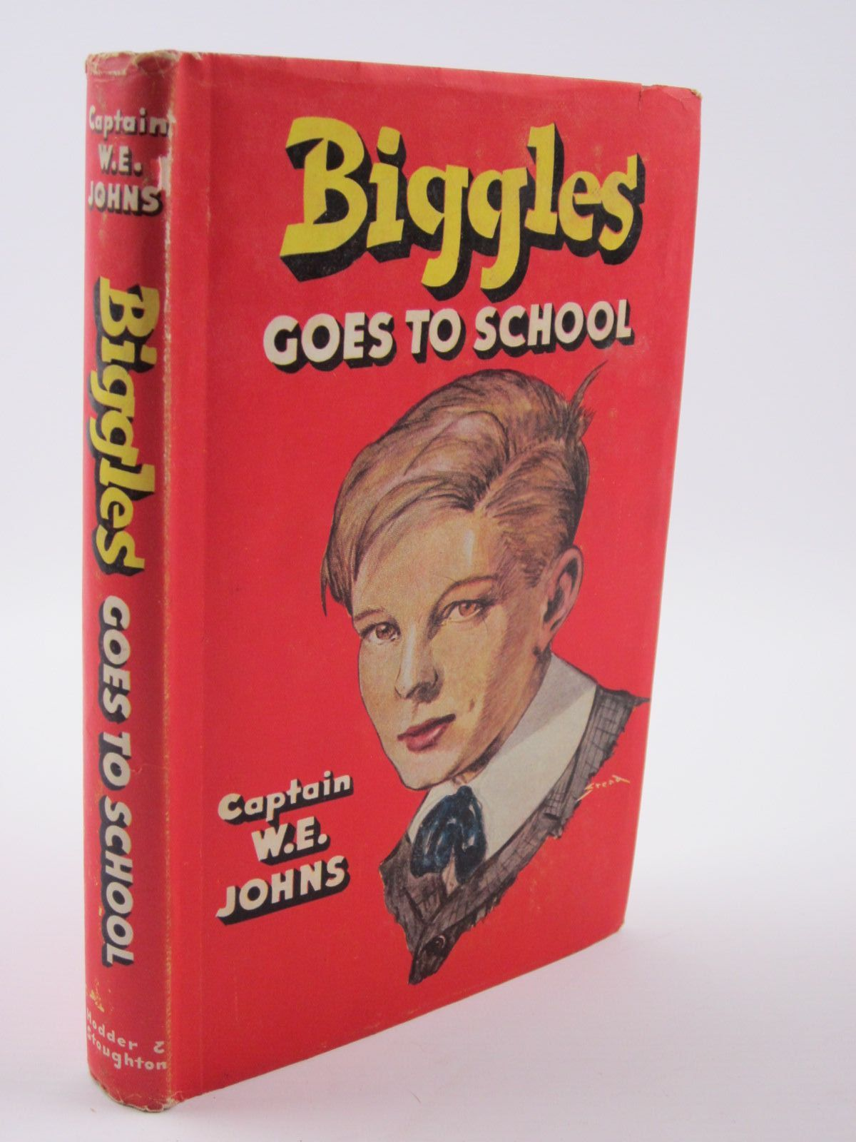 Cover of BIGGLES GOES TO SCHOOL by W.E. Johns