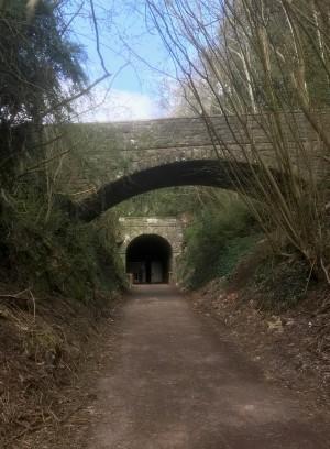 Tidenham Tunnel Entrance - Wye Valley Greenway