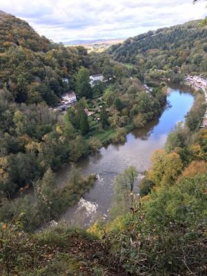 Beautiful Symonds Yat - 15 miles up the Wye from Tintern