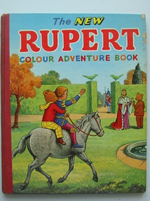 Photo of THE NEW RUPERT COLOUR ADVENTURE BOOK- Stock Number: 1102137