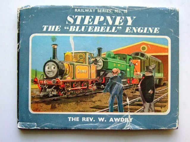 Photo of STEPNEY THE BLUEBELL ENGINE written by Awdry, Rev. W. illustrated by Edwards, Gunvor<br />Edwards, Peter published by Edmund Ward Ltd. (STOCK CODE: 1104387)  for sale by Stella & Rose's Books