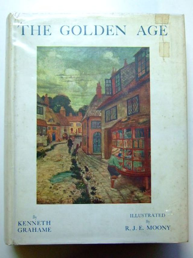 Photo of THE GOLDEN AGE written by Grahame, Kenneth illustrated by Enraght-Moony, R.J. published by John Lane The Bodley Head (STOCK CODE: 1104542)  for sale by Stella & Rose's Books