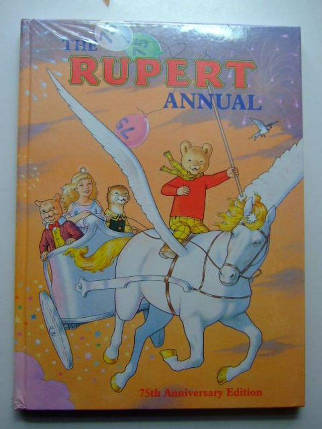 Photo of RUPERT ANNUAL 1995 written by Robinson, Ian illustrated by Harrold, John published by Pedigree Books Limited (STOCK CODE: 1104948)  for sale by Stella & Rose's Books