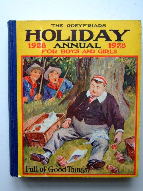 Photo of THE GREYFRIARS HOLIDAY ANNUAL 1928- Stock Number: 1105416