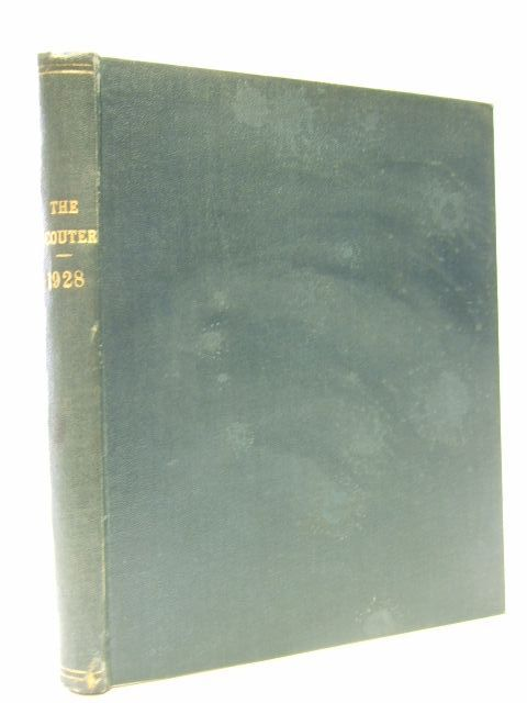 Photo of THE SCOUTER VOLUME XXII 1928- Stock Number: 1106941