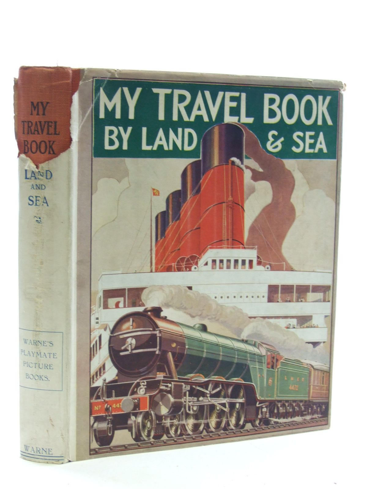 Photo of MY TRAVEL BOOK BY LAND AND SEA- Stock Number: 1107059