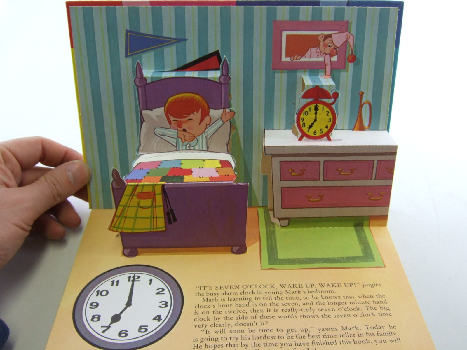 Photo of DEAN'S TELL THE TIME POP-UP BOOK published by Dean & Son Ltd. (STOCK CODE: 1107590)  for sale by Stella & Rose's Books