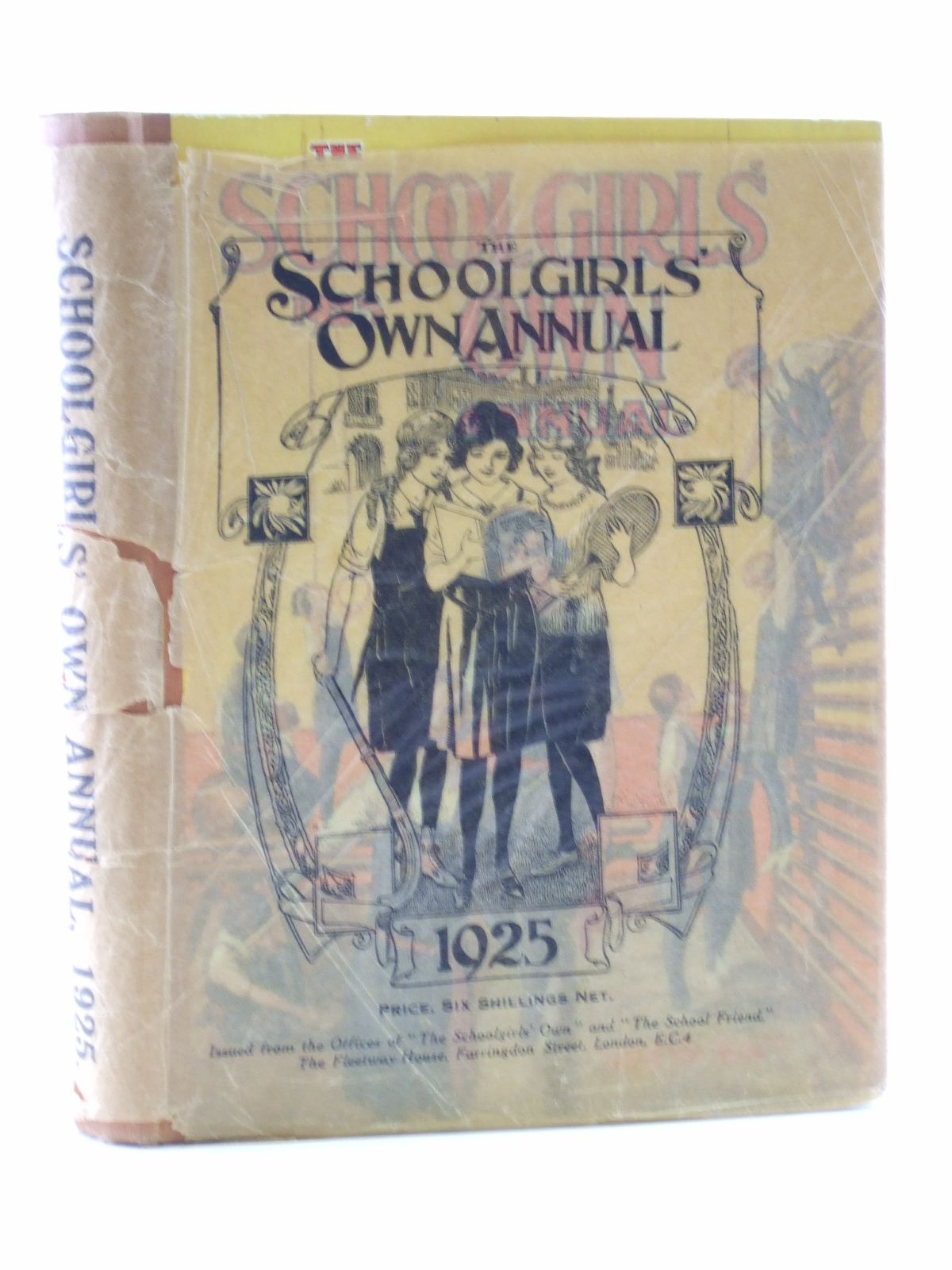Photo of THE SCHOOLGIRLS' OWN ANNUAL 1925 published by The Schoolgirls' own (STOCK CODE: 1107784)  for sale by Stella & Rose's Books