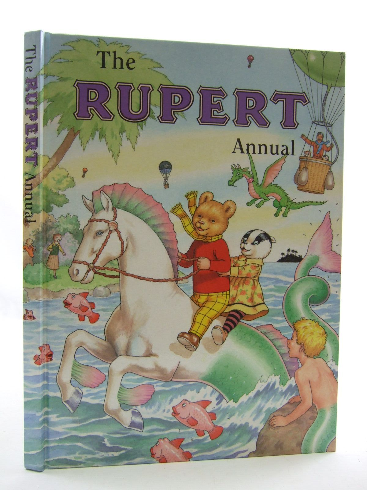 Photo of RUPERT ANNUAL 2001 written by Robinson, Ian illustrated by Harrold, John published by Pedigree Books Limited (STOCK CODE: 1108364)  for sale by Stella & Rose's Books