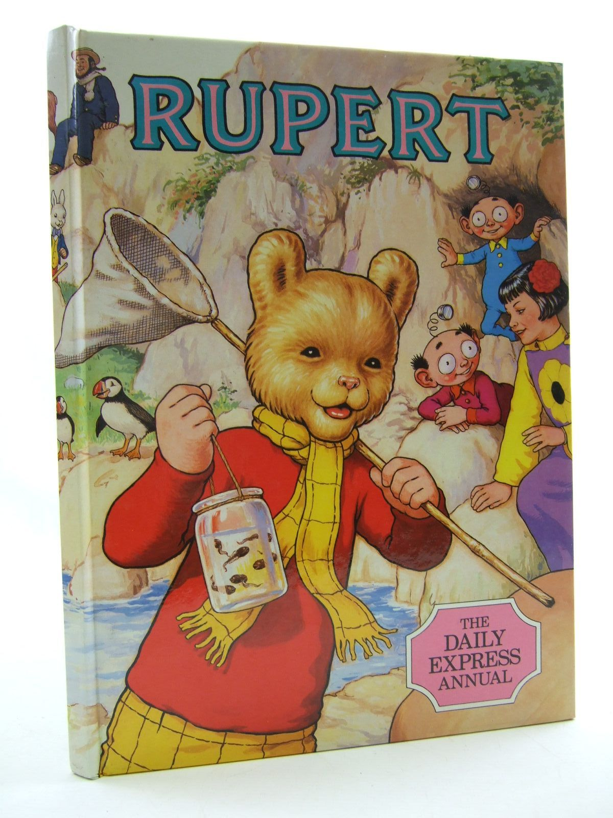 Photo of RUPERT ANNUAL 1986 illustrated by Harrold, John published by Express Newspapers Ltd. (STOCK CODE: 1108365)  for sale by Stella & Rose's Books