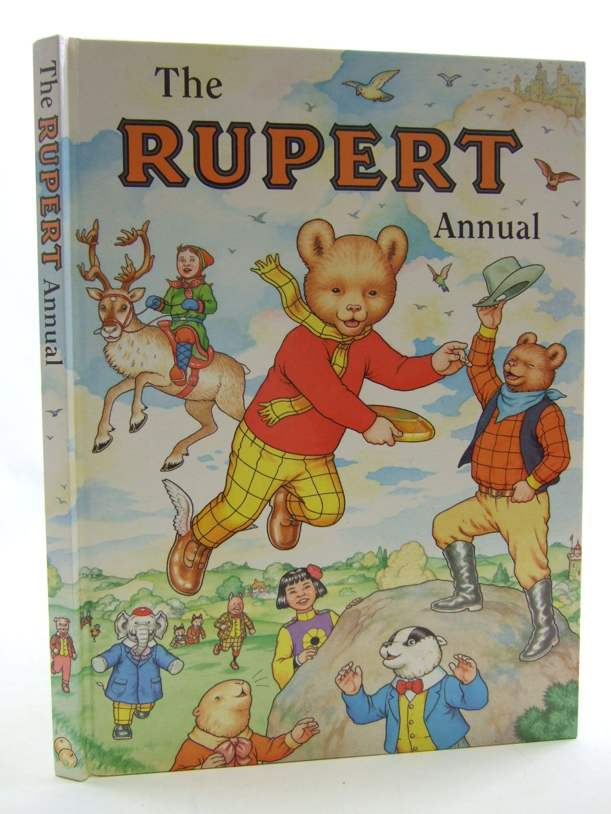 Photo of RUPERT ANNUAL 1999 written by Robinson, Ian illustrated by Harrold, John Hart, Gina published by Pedigree Books Limited (STOCK CODE: 1108394)  for sale by Stella & Rose's Books