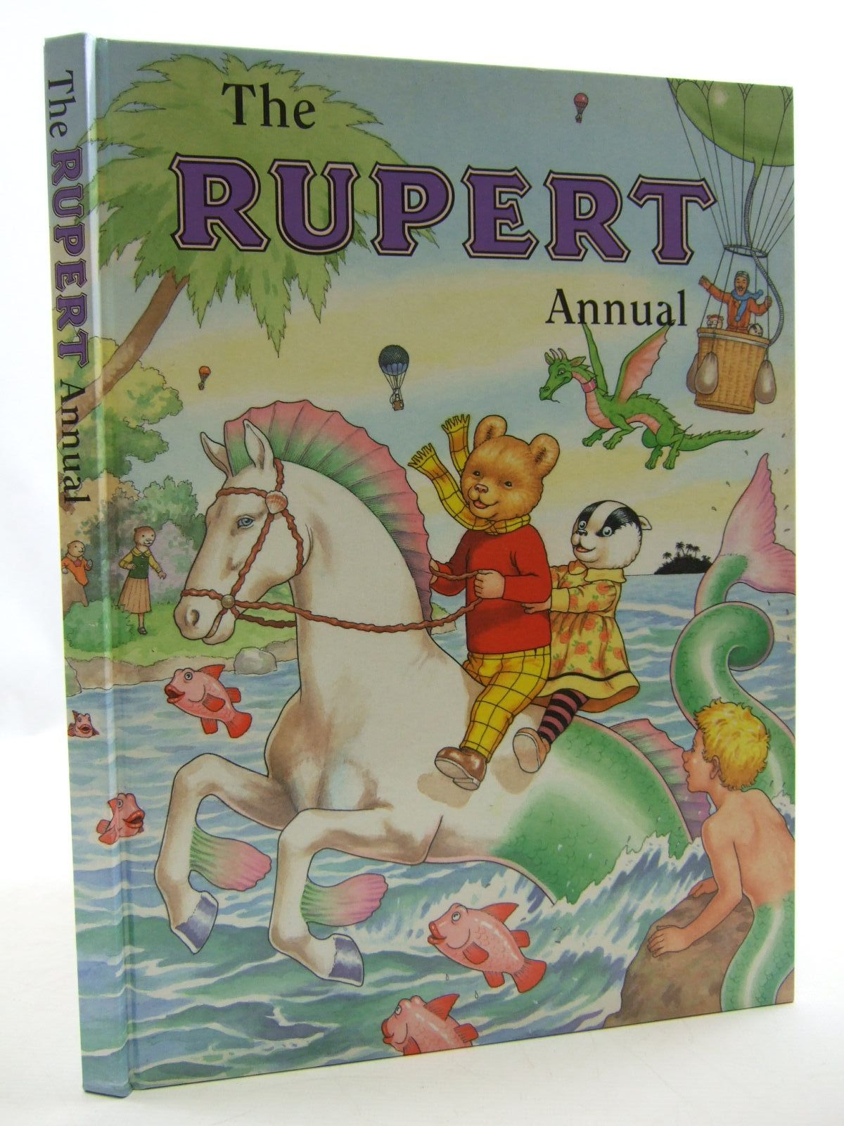 Photo of RUPERT ANNUAL 2001 written by Robinson, Ian illustrated by Harrold, John published by Pedigree Books Limited (STOCK CODE: 1108415)  for sale by Stella & Rose's Books