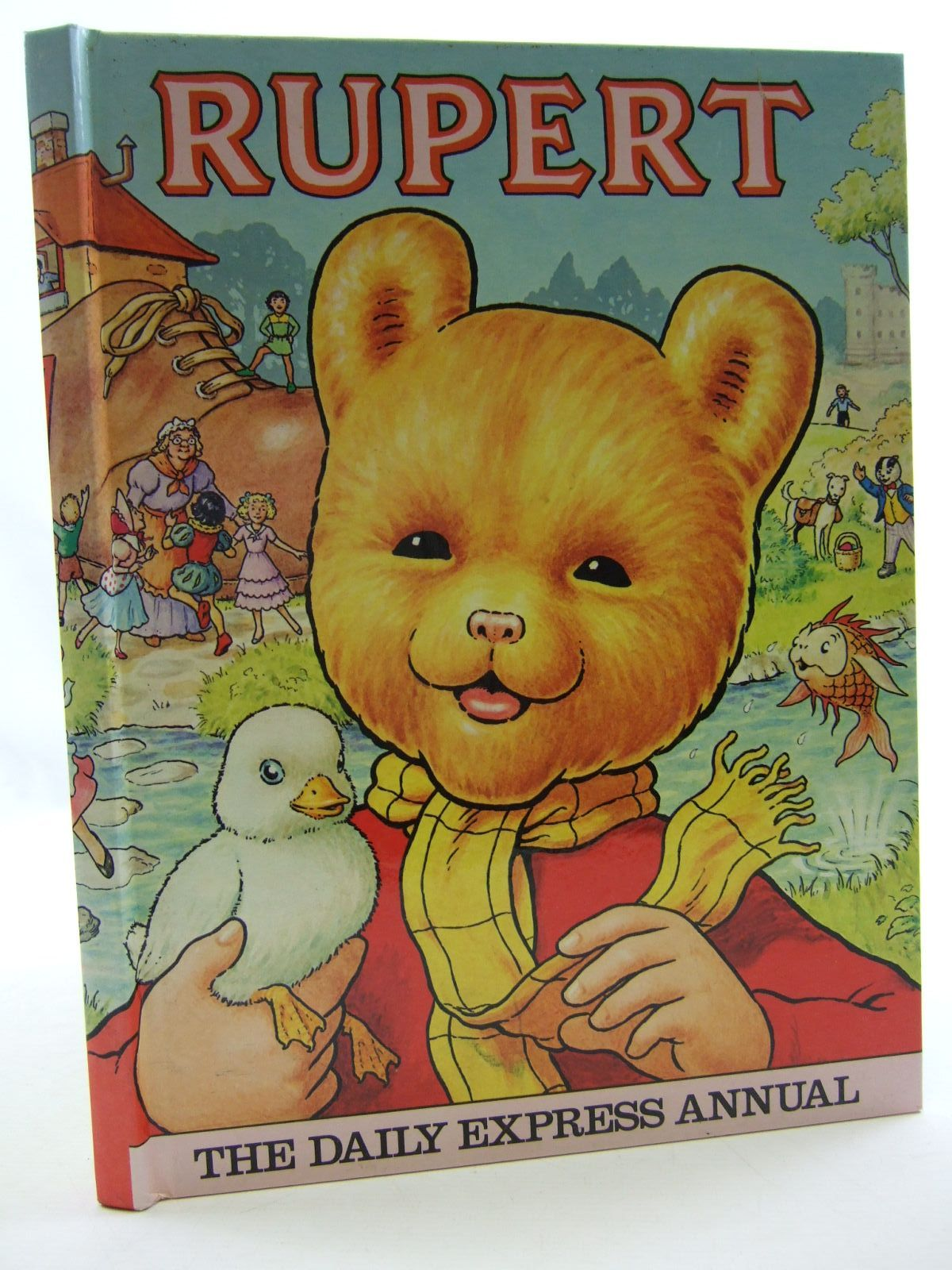 Photo of RUPERT ANNUAL 1981 illustrated by Harrold, John published by Express Newspapers Ltd. (STOCK CODE: 1108426)  for sale by Stella & Rose's Books