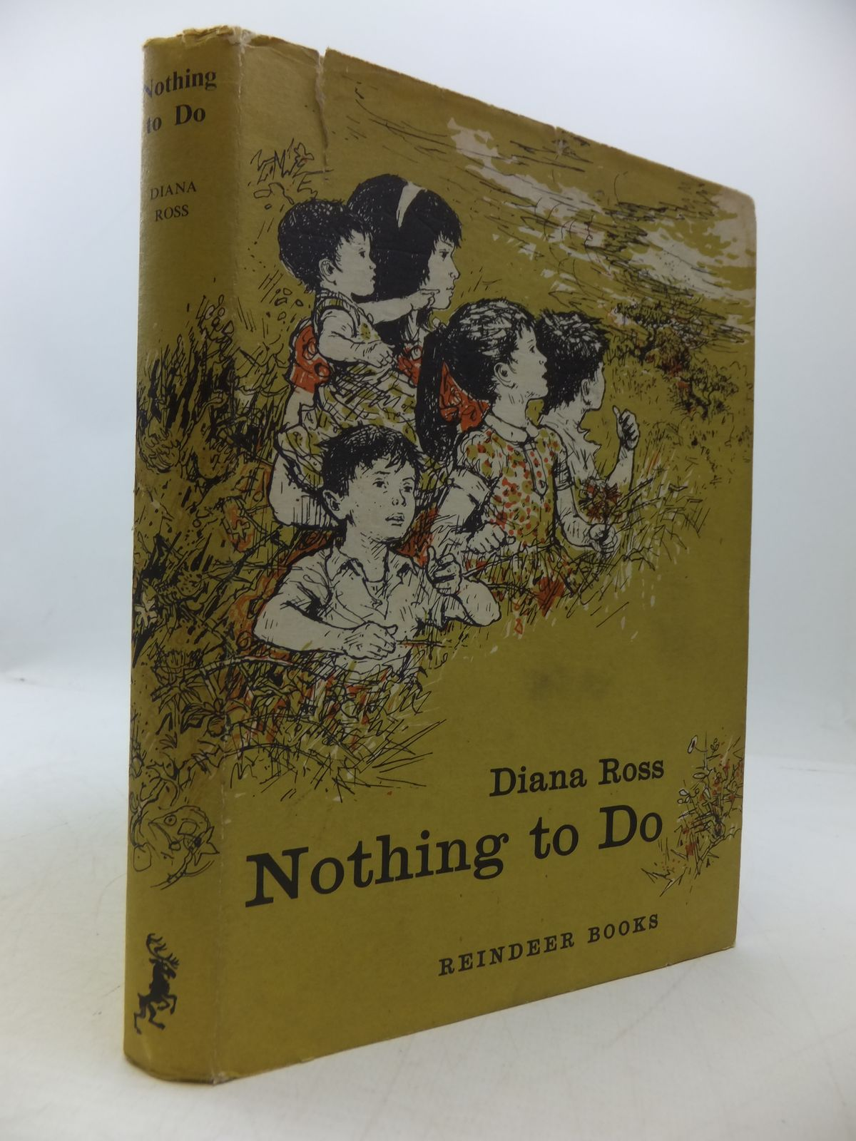 Photo of NOTHING TO DO written by Ross, Diana illustrated by Marshall, Constance published by Hamish Hamilton (STOCK CODE: 1108512)  for sale by Stella & Rose's Books
