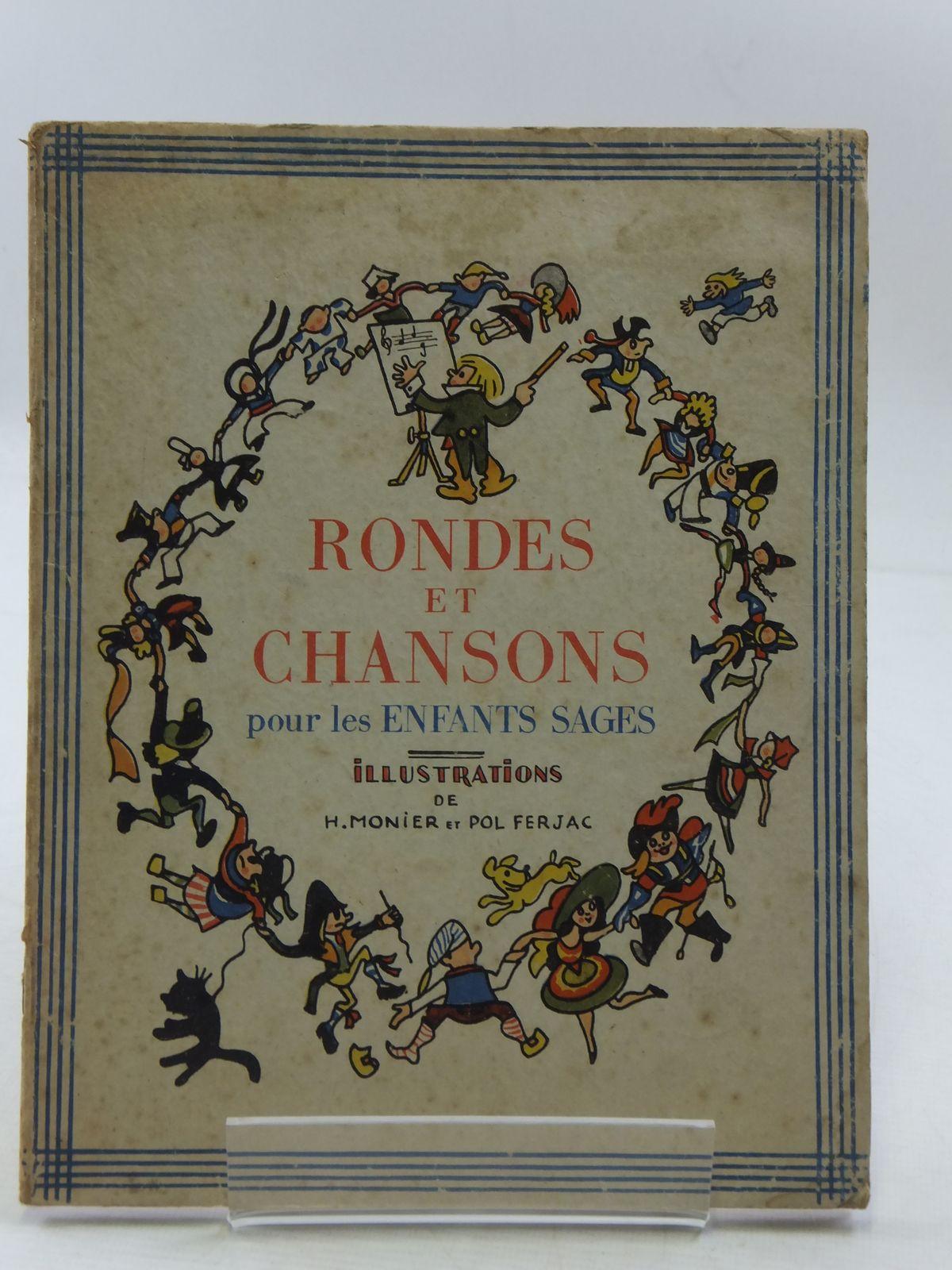 Photo of COMPTINES, RONDES ET CHANSONS POUR LES ENFANTS SAGES- Stock Number: 1108548