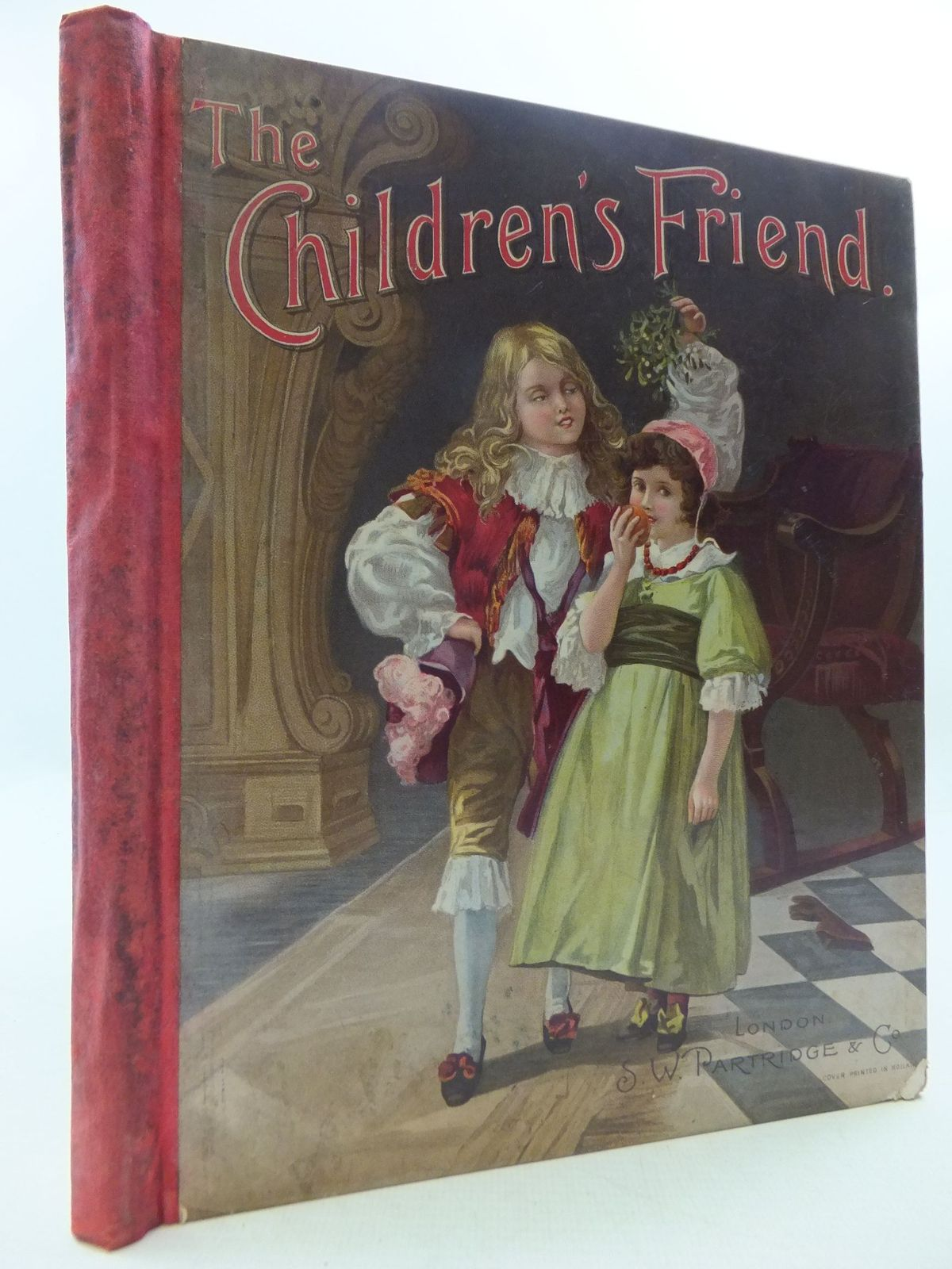 Photo of THE CHILDREN'S FRIEND VOLUME XL JANUARY TO DECEMBER 1900 written by Burrage, E. Harcourt Heward, S.L. Quiller-Couch, Mabel et al, illustrated by Wain, Louis et al., published by S.W. Partridge & Co. (STOCK CODE: 1108608)  for sale by Stella & Rose's Books