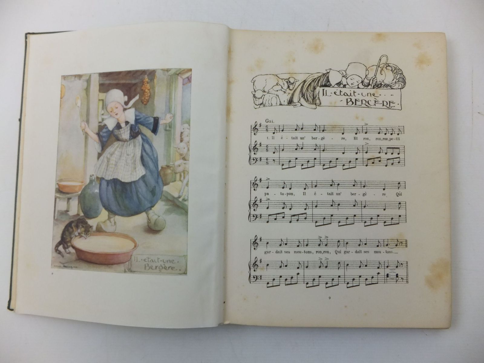 Photo of OLD FRENCH NURSERY SONGS written by Mansion, Horace illustrated by Anderson, Anne published by George G. Harrap & Company (STOCK CODE: 1108635)  for sale by Stella & Rose's Books