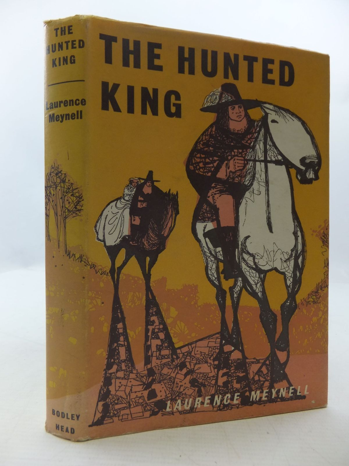 Photo of THE HUNTED KING written by Meynell, Laurence published by The Bodley Head (STOCK CODE: 1108651)  for sale by Stella & Rose's Books