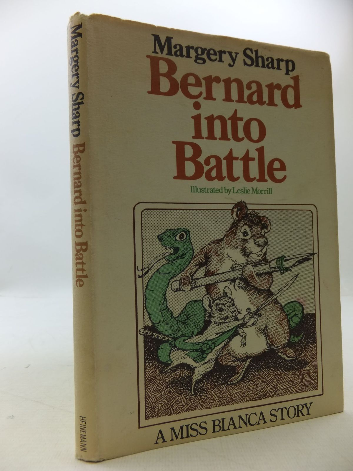 Photo of BERNARD INTO BATTLE written by Sharp, Margery illustrated by Morrill, Leslie published by Heinemann (STOCK CODE: 1108719)  for sale by Stella & Rose's Books