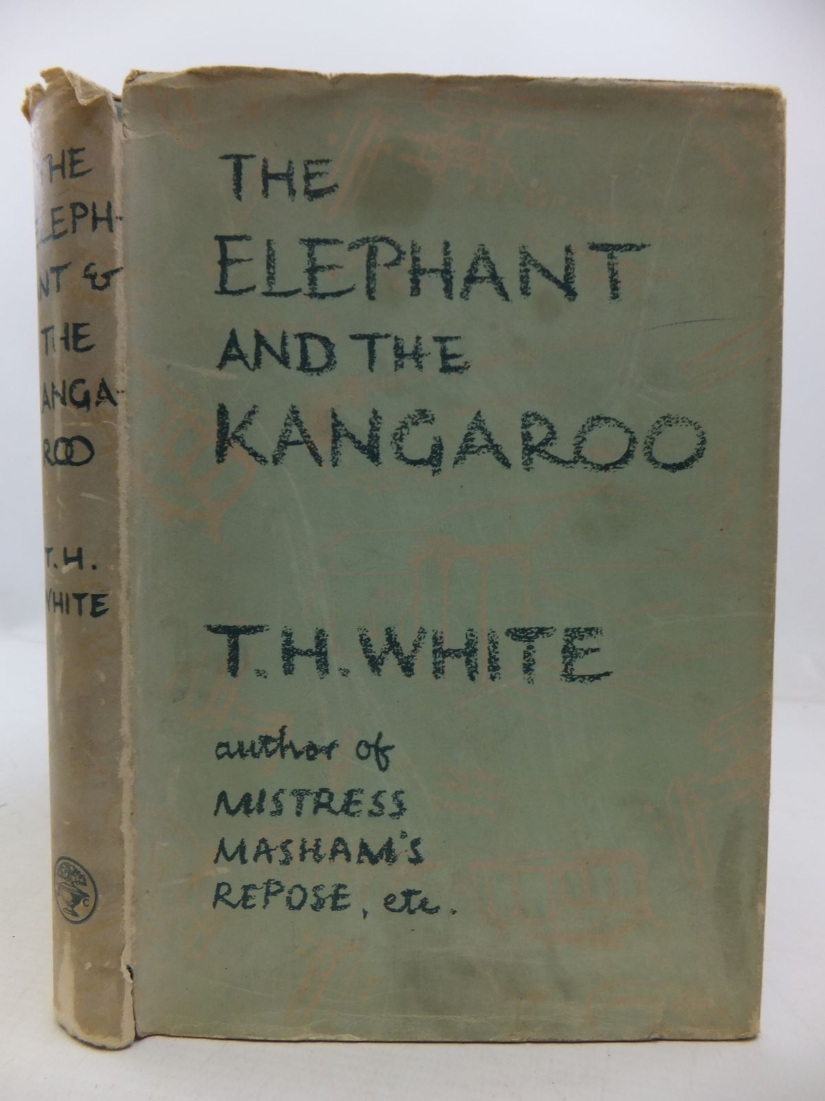 Photo of THE ELEPHANT AND THE KANGAROO- Stock Number: 1108834