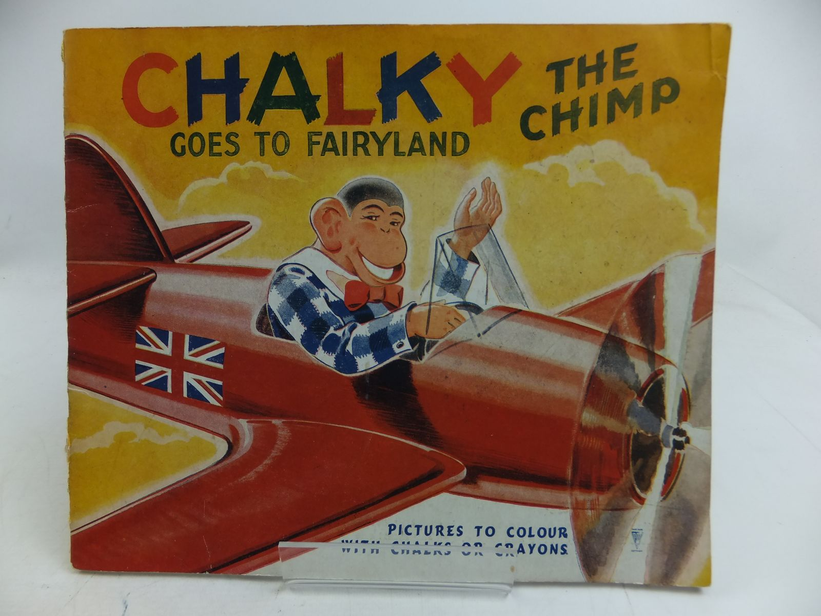 Photo of CHALKY THE CHIMP GOES TO FAIRYLAND (STOCK CODE: 1108864)  for sale by Stella & Rose's Books