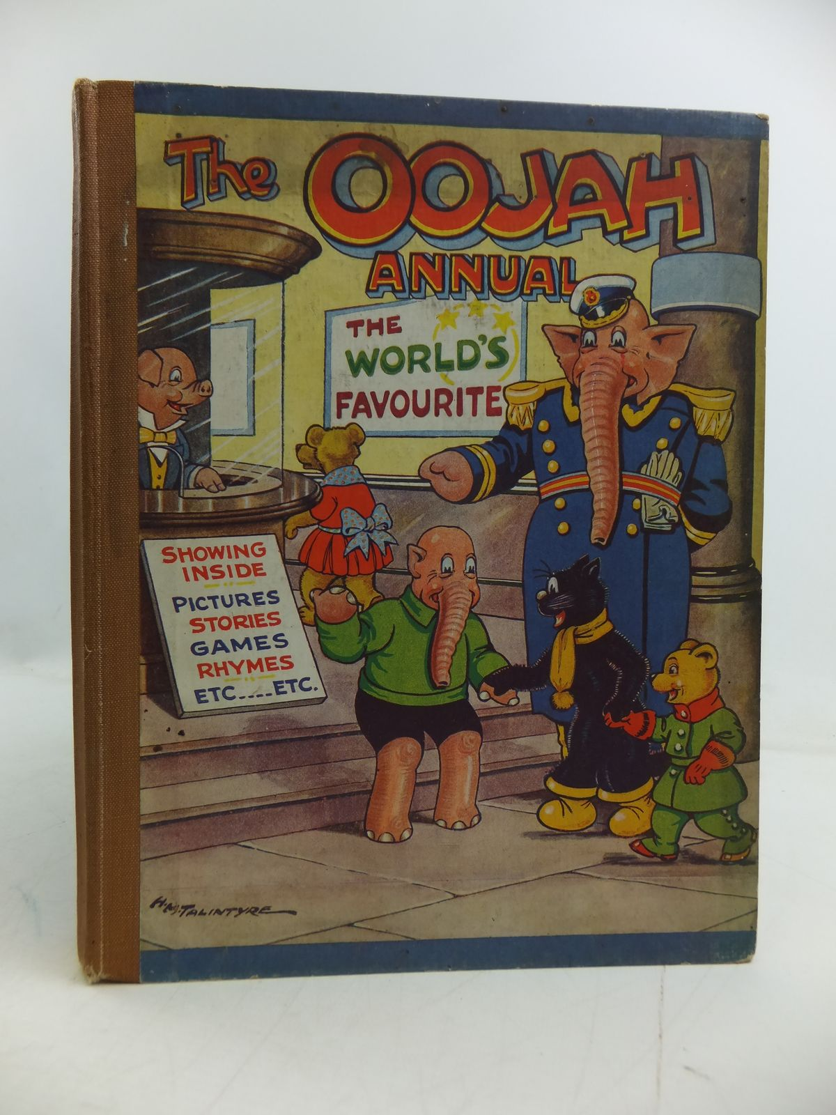 Photo of THE OOJAH ANNUAL written by Lancaster, Flo. illustrated by Talintyre, H.M. published by Peter Pitkin (STOCK CODE: 1108866)  for sale by Stella & Rose's Books