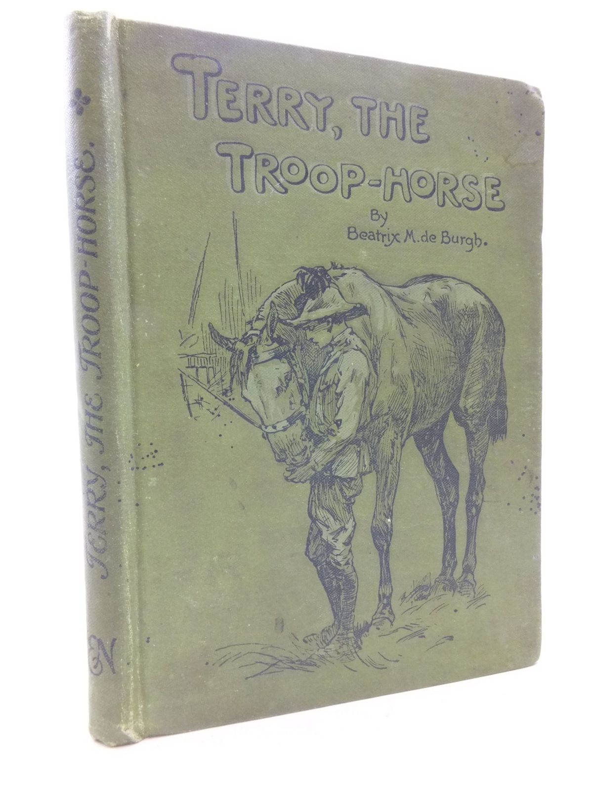Photo of TERRY, THE TROOP-HORSE written by De Burgh, Beatrix illustrated by Hardy, E. Stuart published by Ernest Nister (STOCK CODE: 1108925)  for sale by Stella & Rose's Books