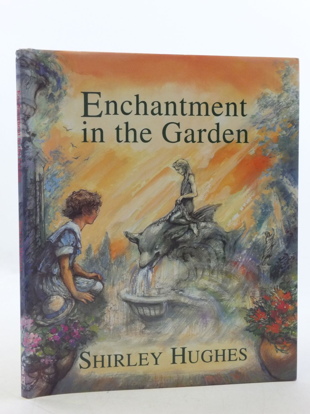 Photo of ENCHANTMENT IN THE GARDEN written by Hughes, Shirley illustrated by Hughes, Shirley published by The Bodley Head (STOCK CODE: 1108957)  for sale by Stella & Rose's Books
