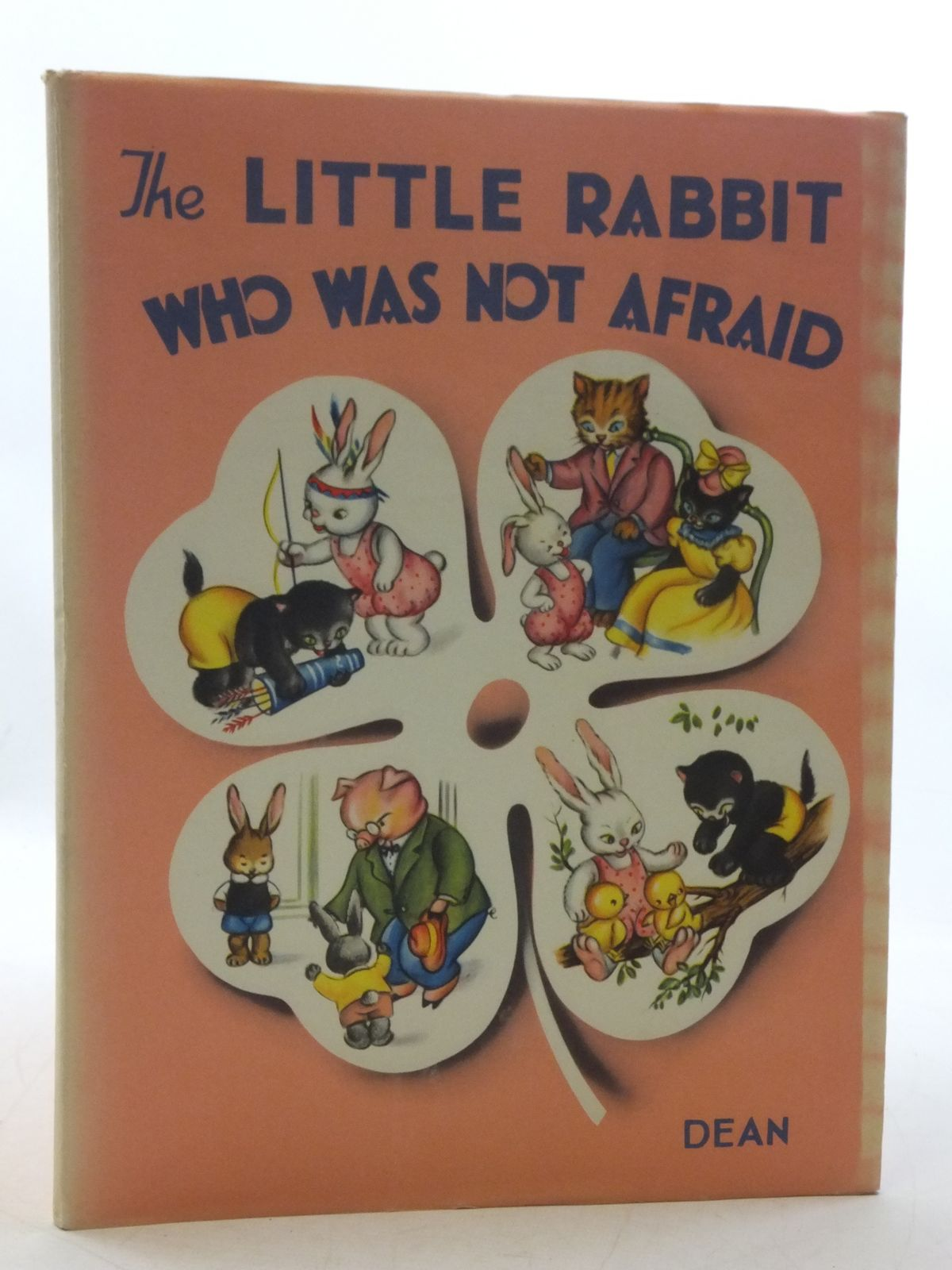 Photo of THE LITTLE RABBIT WHO WAS NOT AFRAID written by Monti, Jolanda Colombini illustrated by Mariapia, published by Dean & Son Ltd. (STOCK CODE: 1108979)  for sale by Stella & Rose's Books