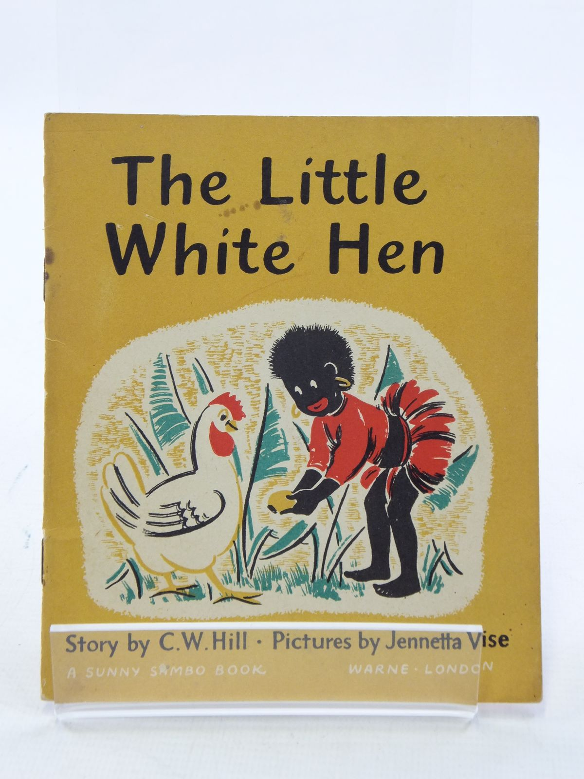 Photo of THE LITTLE WHITE HEN written by Hill, C.W. illustrated by Vise, Jennetta published by Warne, Eden Press (STOCK CODE: 1108992)  for sale by Stella & Rose's Books