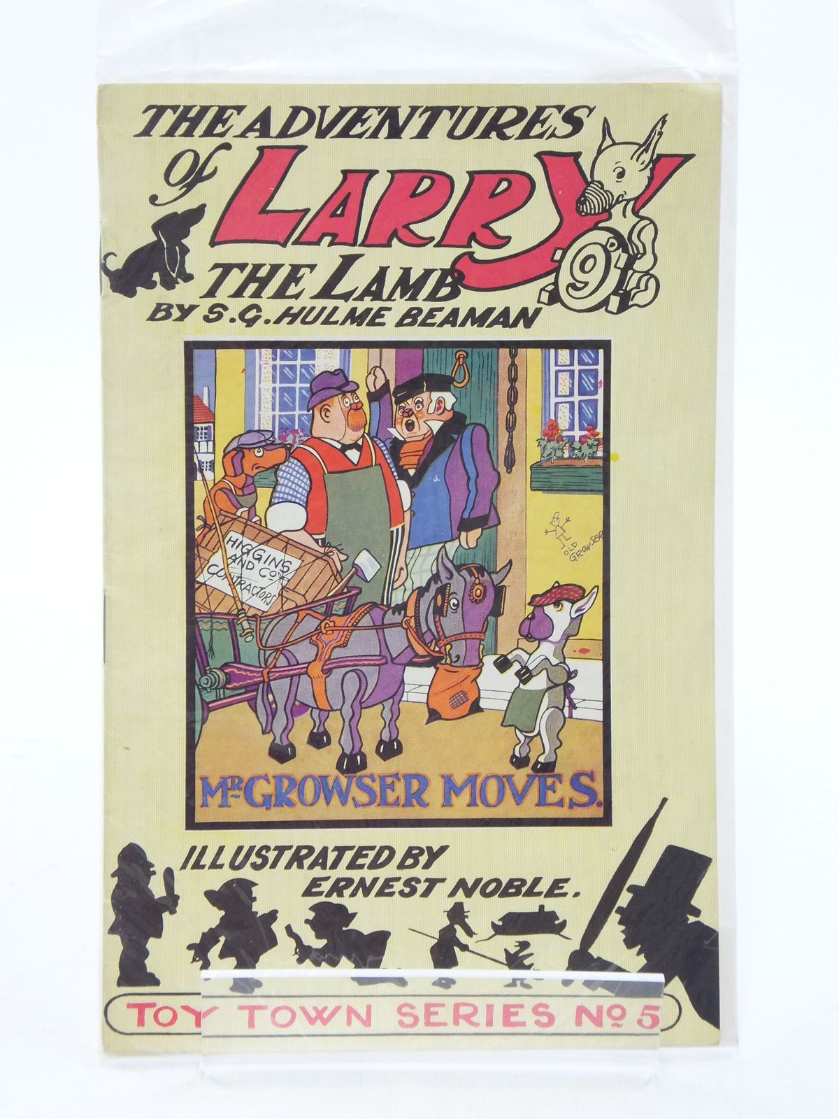 Photo of THE ADVENTURES OF LARRY THE LAMB - MR GROWSER MOVES written by Beaman, S.G. Hulme illustrated by Noble, Ernest published by George Lapworth & Co Ltd. (STOCK CODE: 1108999)  for sale by Stella & Rose's Books