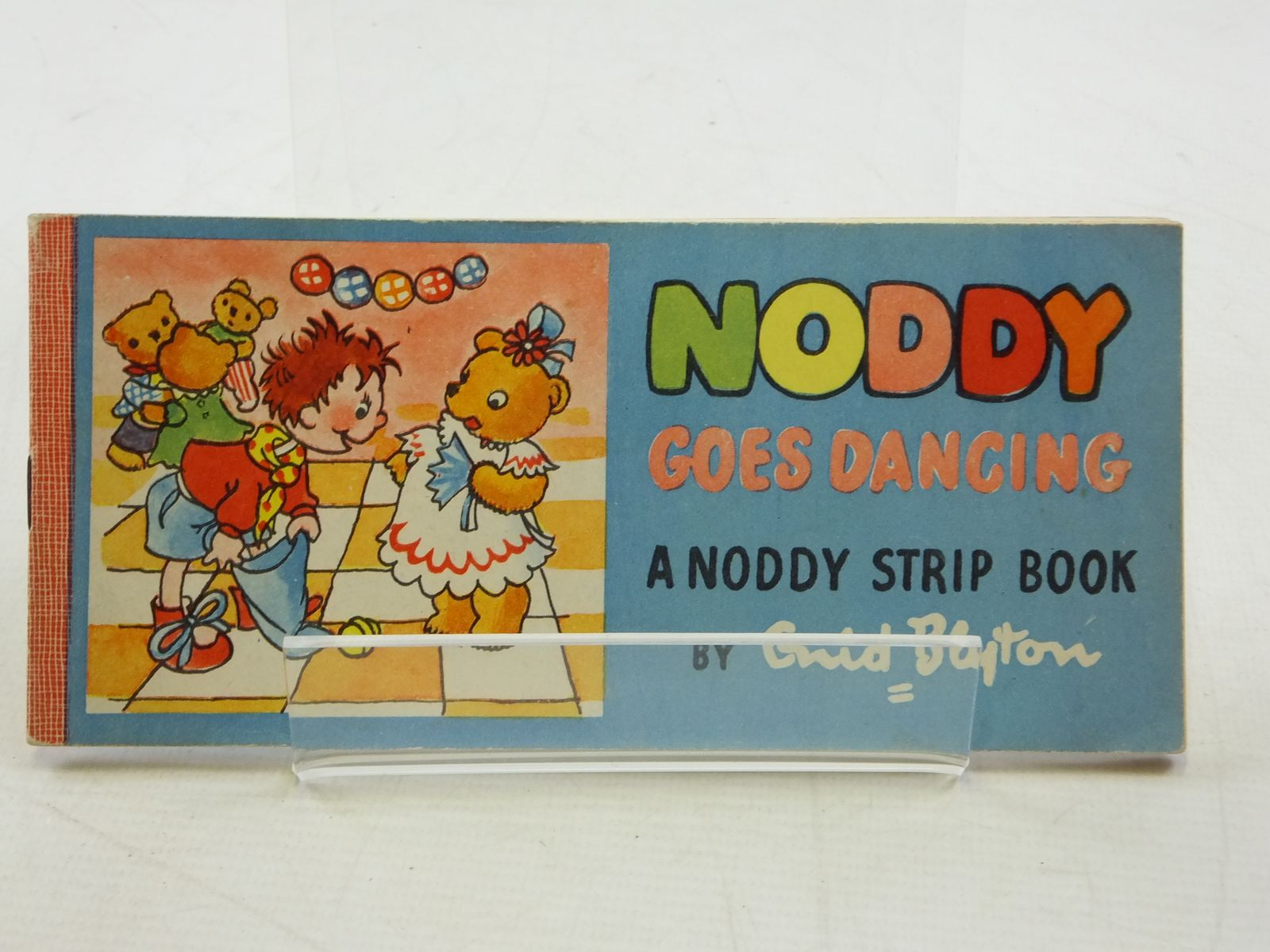 Photo of NODDY GOES DANCING written by Blyton, Enid illustrated by Beek,  published by Sampson Low, Marston & Co. Ltd. (STOCK CODE: 1109081)  for sale by Stella & Rose's Books