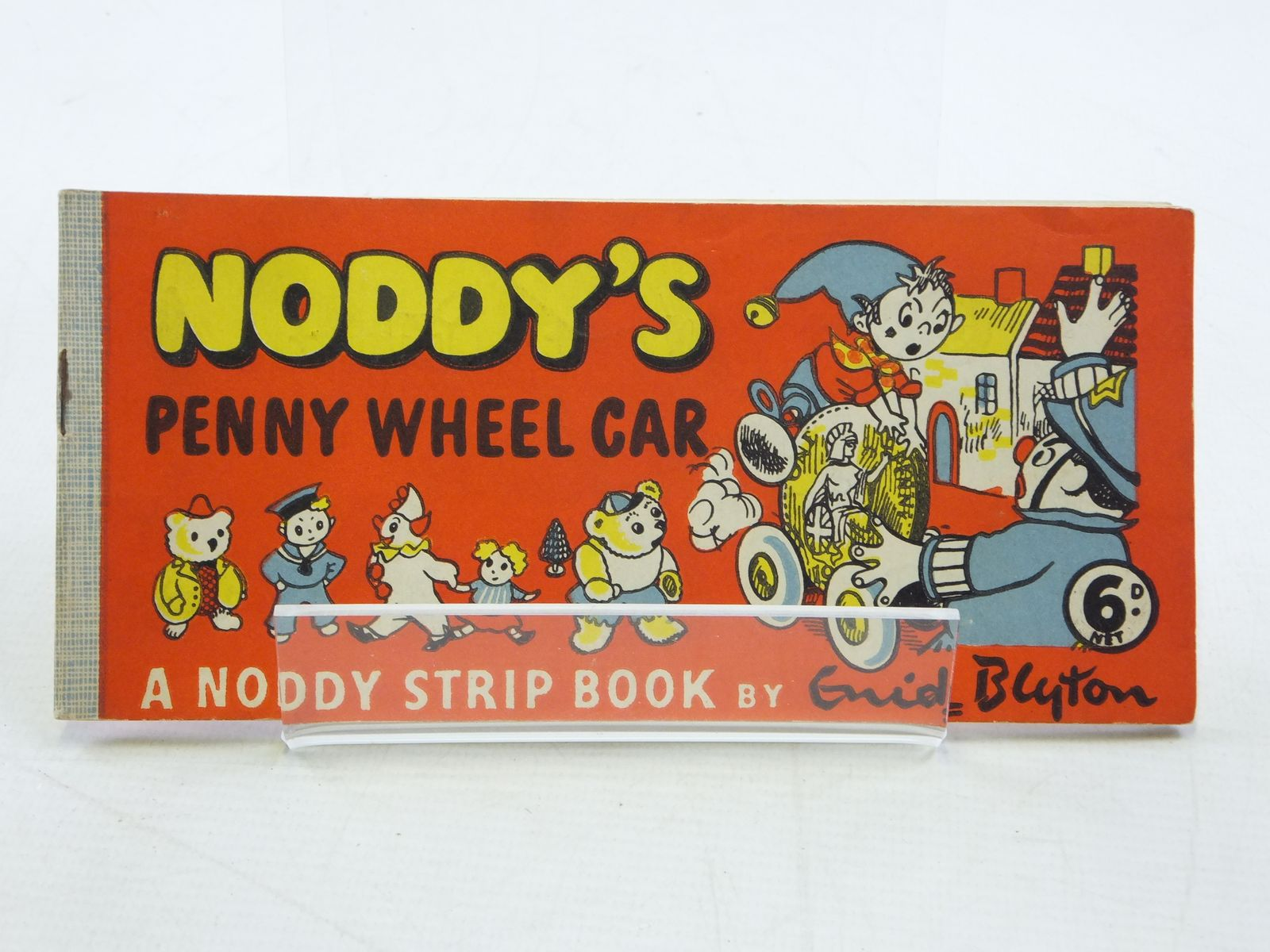 Photo of NODDY'S PENNY WHEEL CAR written by Blyton, Enid published by Sampson Low (STOCK CODE: 1109083)  for sale by Stella & Rose's Books