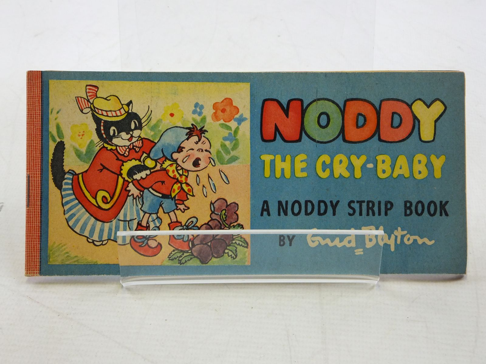 Photo of NODDY THE CRY-BABY written by Blyton, Enid illustrated by Beek,  published by Sampson Low, Marston & Co. (STOCK CODE: 1109084)  for sale by Stella & Rose's Books