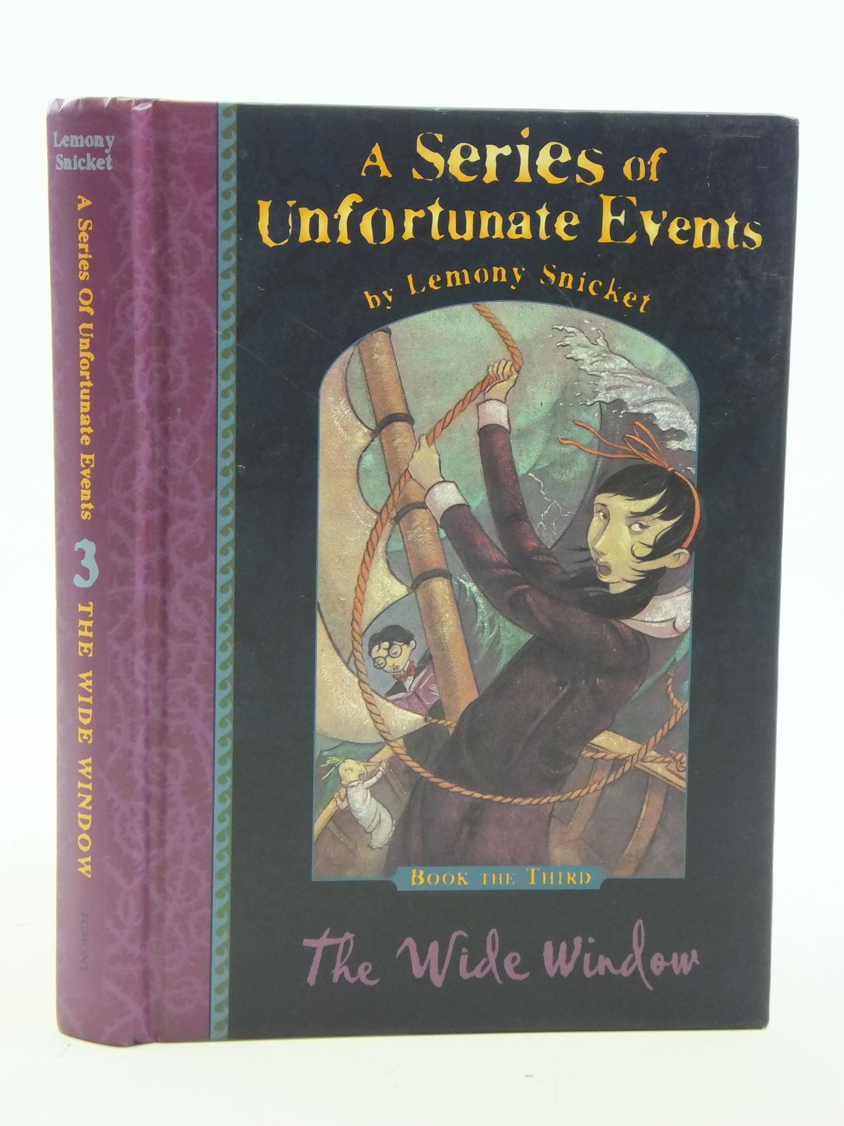 Photo of A SERIES OF UNFORTUNATE EVENTS: THE WIDE WINDOW written by Snicket, Lemony illustrated by Helquist, Brett published by Egmont Children's Books Ltd. (STOCK CODE: 1109093)  for sale by Stella & Rose's Books