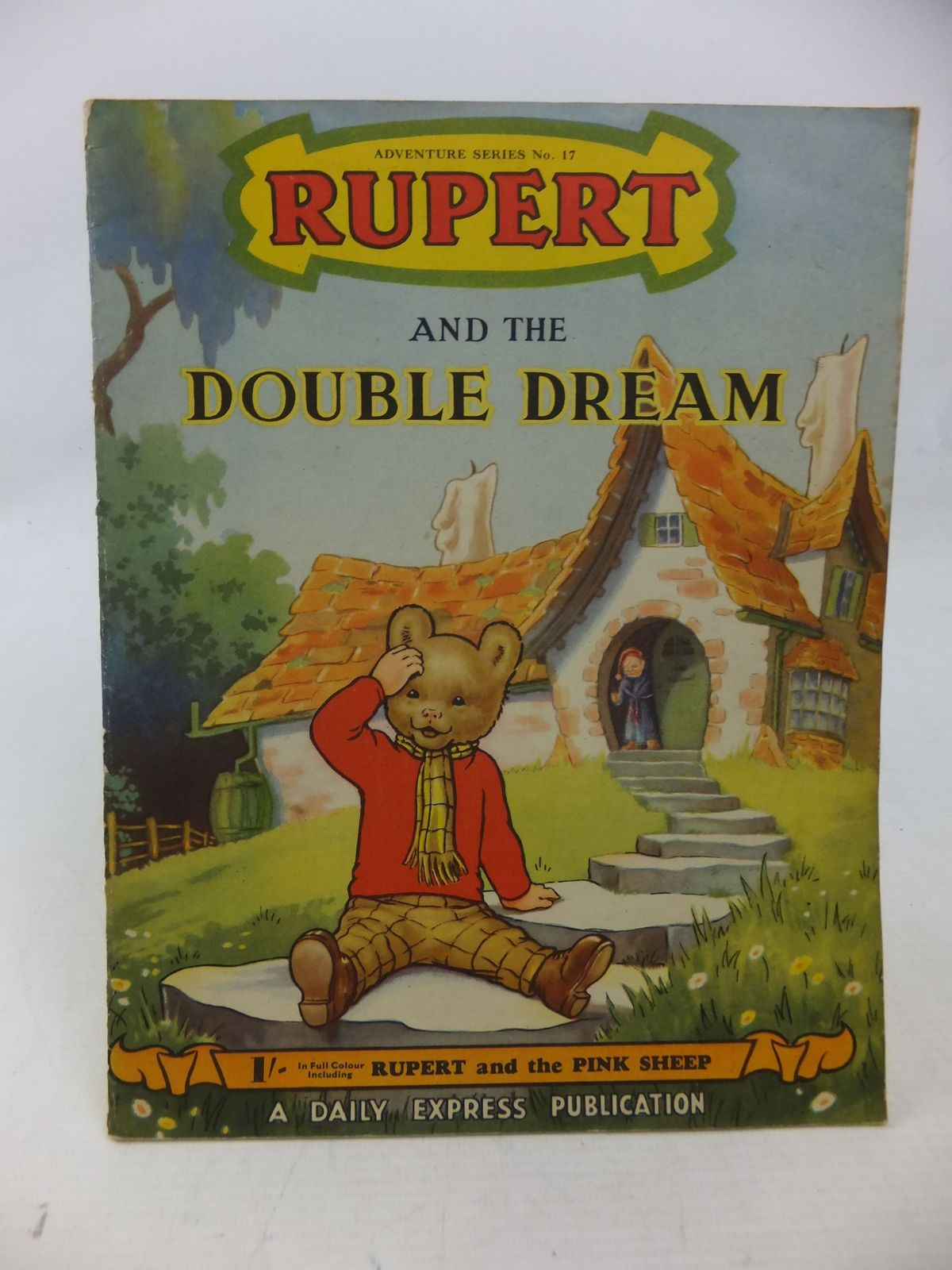 Photo of RUPERT ADVENTURE SERIES No. 17 - RUPERT AND THE DOUBLE DREAM- Stock Number: 1109173