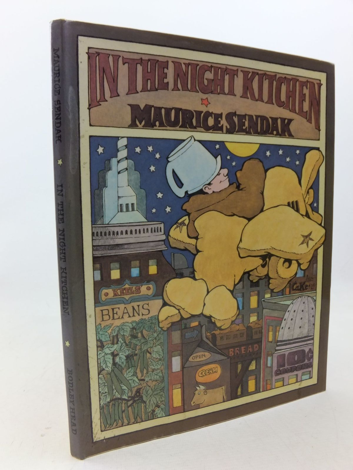 Photo of IN THE NIGHT KITCHEN written by Sendak, Maurice illustrated by Sendak, Maurice published by The Bodley Head (STOCK CODE: 1109217)  for sale by Stella & Rose's Books