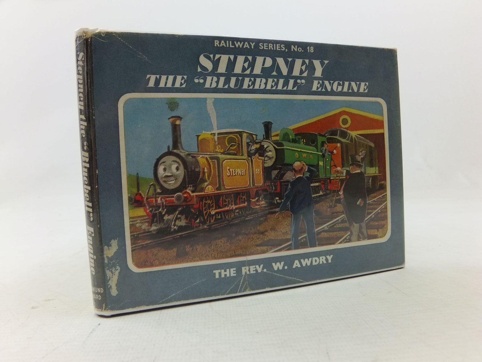 Photo of STEPNEY THE BLUEBELL ENGINE written by Awdry, Rev. W. illustrated by Edwards, Gunvor<br />Edwards, Peter published by Edmund Ward Ltd. (STOCK CODE: 1109220)  for sale by Stella & Rose's Books