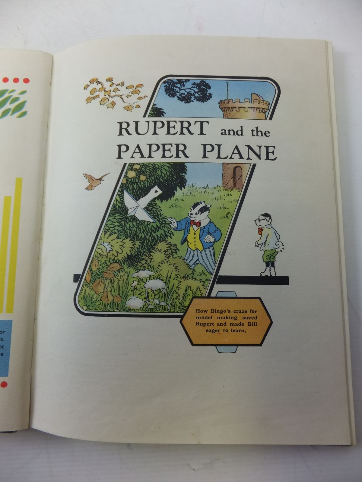 Photo of RUPERT ANNUAL 1950 - ADVENTURES OF RUPERT written by Bestall, Alfred illustrated by Bestall, Alfred published by Daily Express (STOCK CODE: 1109456)  for sale by Stella & Rose's Books