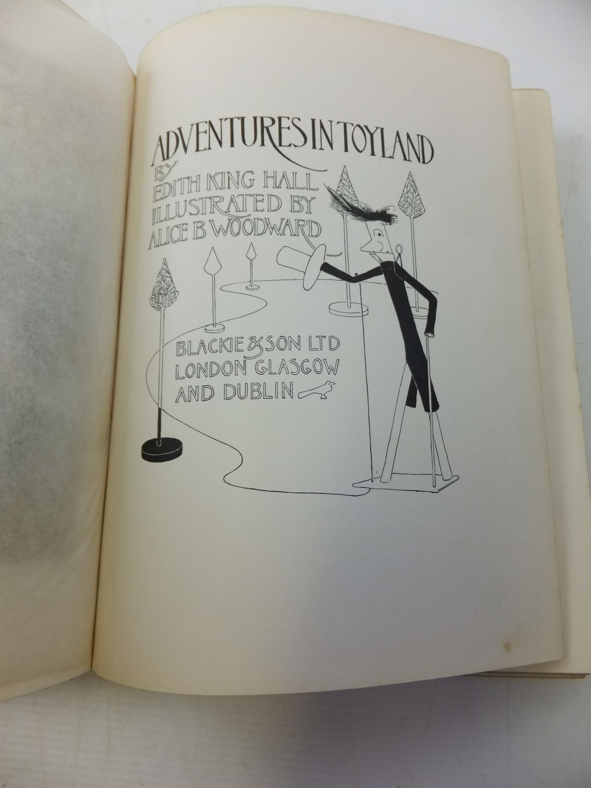 Photo of ADVENTURES IN TOYLAND written by Hall, Edith King illustrated by Woodward, Alice B. published by Blackie & Son Ltd. (STOCK CODE: 1109459)  for sale by Stella & Rose's Books