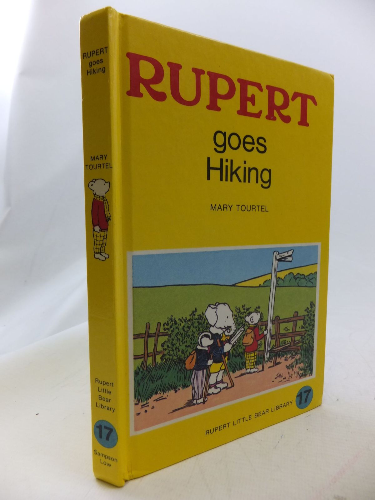 Photo of RUPERT GOES HIKING - RUPERT LITTLE BEAR LIBRARY No. 17 (WOOLWORTH) written by Tourtel, Mary illustrated by Tourtel, Mary published by Sampson Low, Marston & Co. Ltd. (STOCK CODE: 1109508)  for sale by Stella & Rose's Books