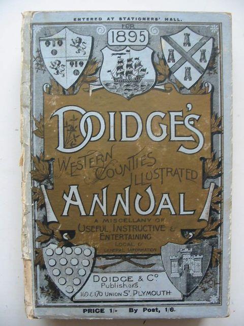 Photo of DOIDGE'S WESTERN COUNTIES ILLUSTRATED ANNUAL 1895- Stock Number: 1201032