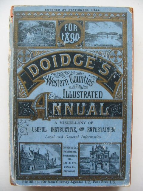 Photo of DOIDGE'S WESTERN COUNTIES ILLUSTRATED ANNUAL 1890- Stock Number: 1201038