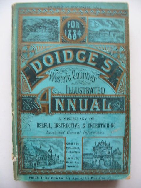 Photo of DOIDGE'S WESTERN COUNTIES ILLUSTRATED ANNUAL 1884- Stock Number: 1201039