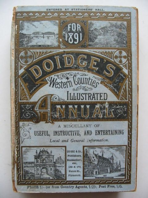 Photo of DOIDGE'S WESTERN COUNTIES ILLUSTRATED ANNUAL 1891- Stock Number: 1201041