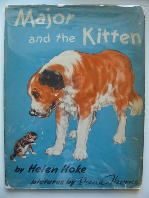 Photo of MAJOR AND THE KITTEN written by Hoke, Helen illustrated by Thorne, Diana published by Franklin Watts (STOCK CODE: 1201065)  for sale by Stella & Rose's Books