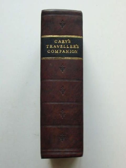 Photo of CARY'S TRAVELLER'S COMPANION AND CARY'S NEW ITINERARY written by Cary, John published by John Cary (STOCK CODE: 1201228)  for sale by Stella & Rose's Books